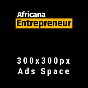 Africana Entrepreneur - 300x300px Ad Space
