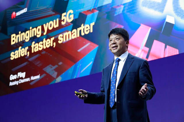 Huawei boss: 5G making industries go digital at faster pace