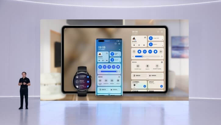 Huawei unveils HarmonyOS-powered smart devices